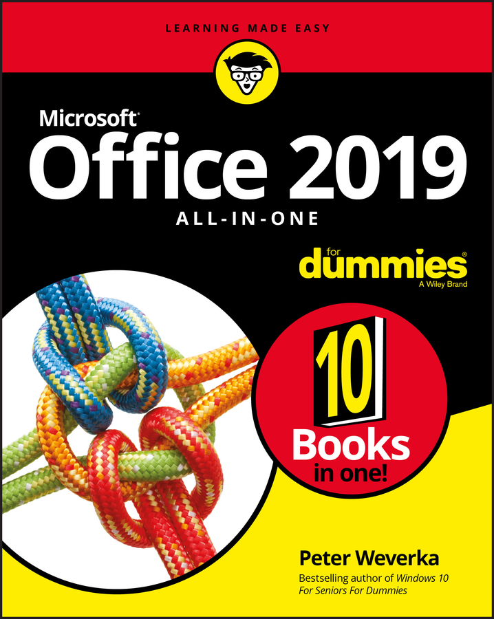 Peter Weverka Office 2019 All-in-One For Dummies peter weverka office 2016 all in one for dummies
