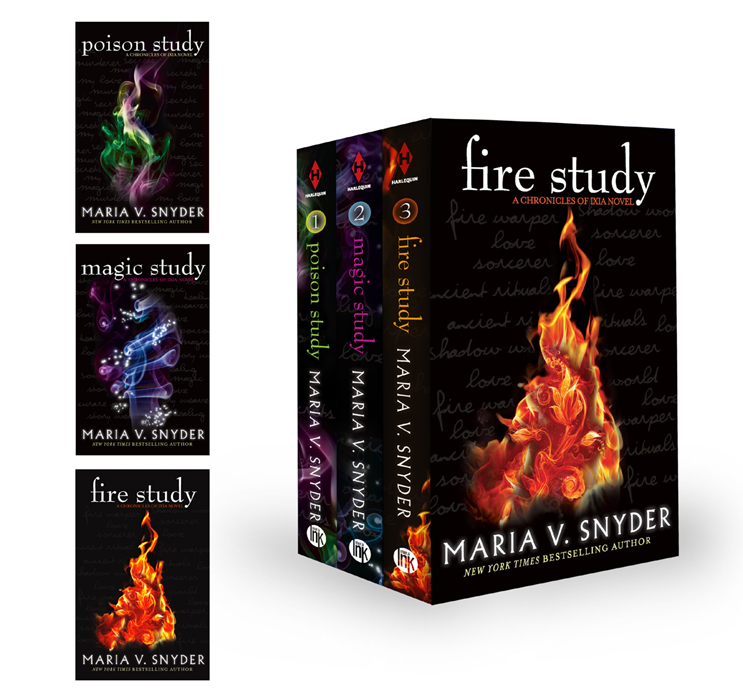 Maria V. Snyder Study Collection: Magic Study / Poison Study / Fire Study analytical study