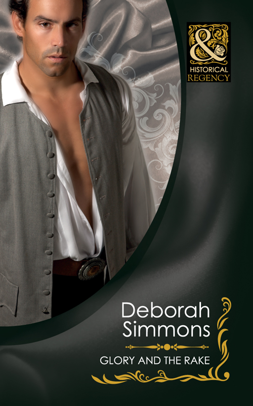 Deborah Simmons Glory And The Rake gold greed and glory