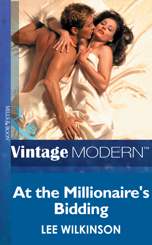 Lee Wilkinson At The Millionaire's Bidding lee wilkinson mistress against her will