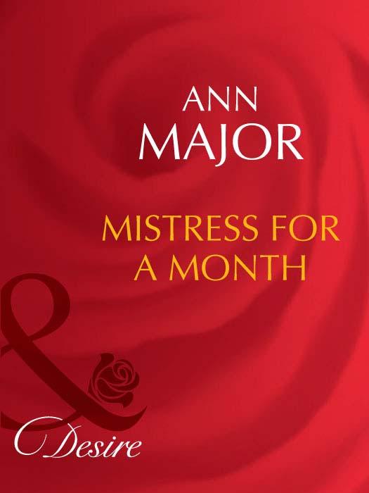 Ann Major Mistress for a Month ann major cowboy at midnight
