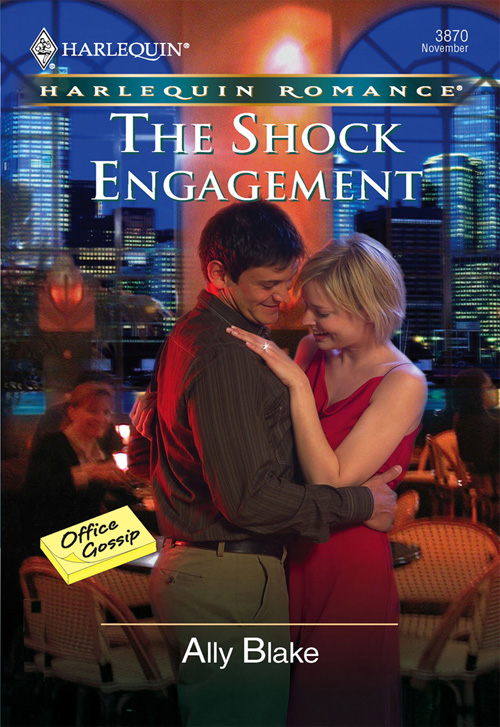Ally Blake The Shock Engagement