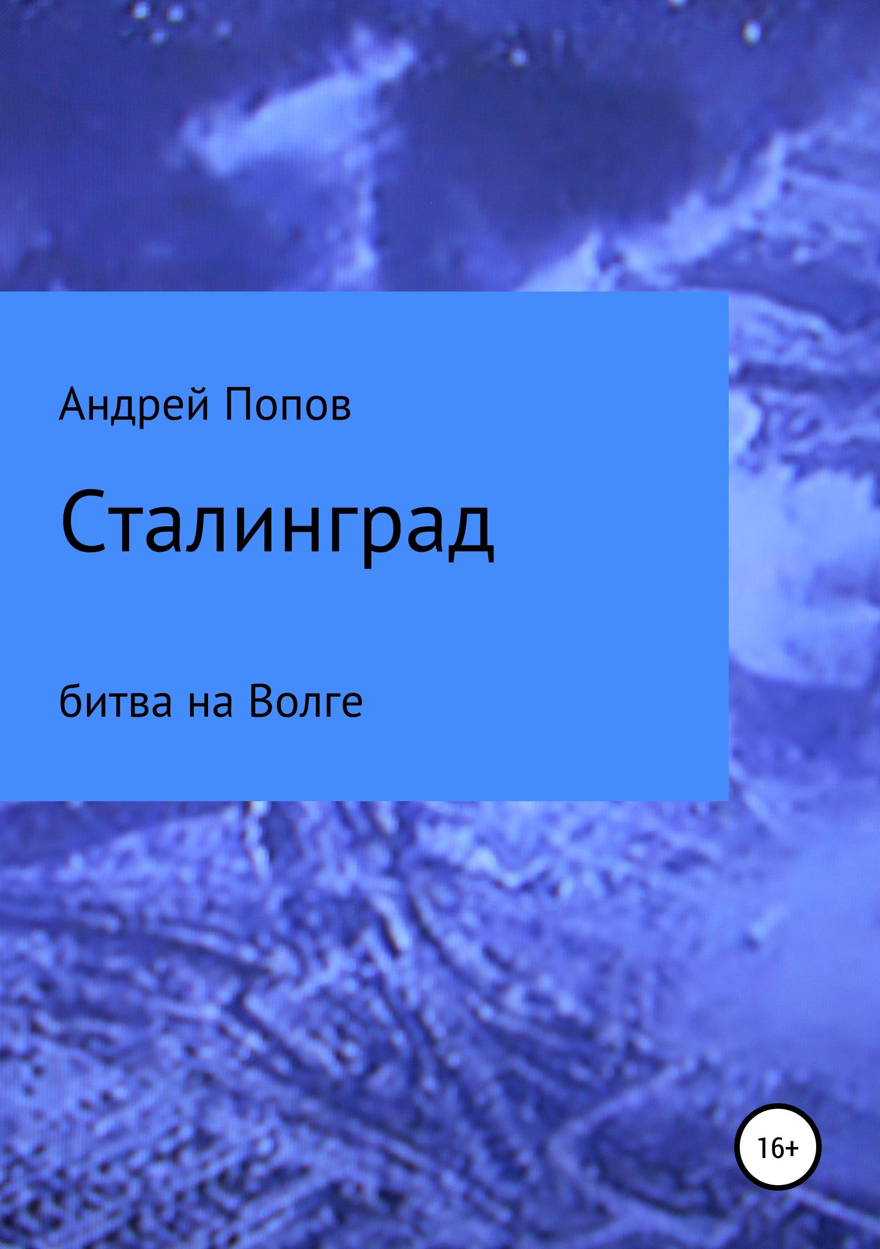 Андрей Сергеевич Попов Сталинград: битва на Волге настольная игра zvezda великая отечественная битва за сталинград 6259