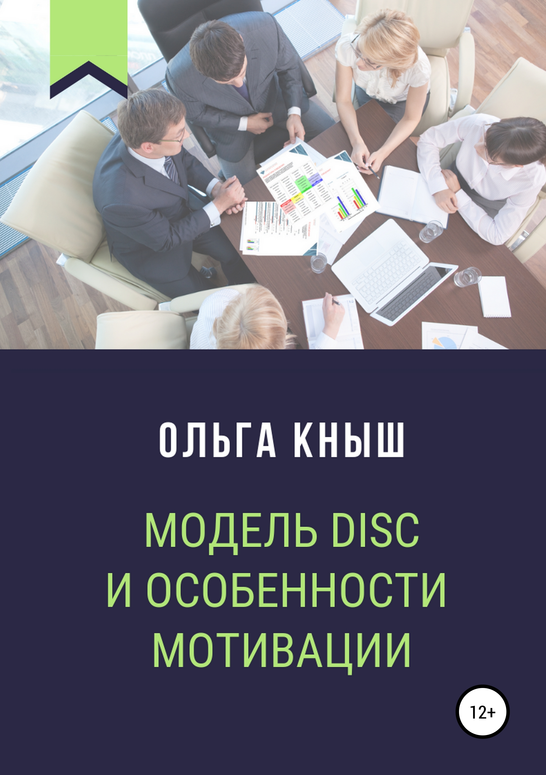 Обложка книги Модель DISC и особенности мотивации