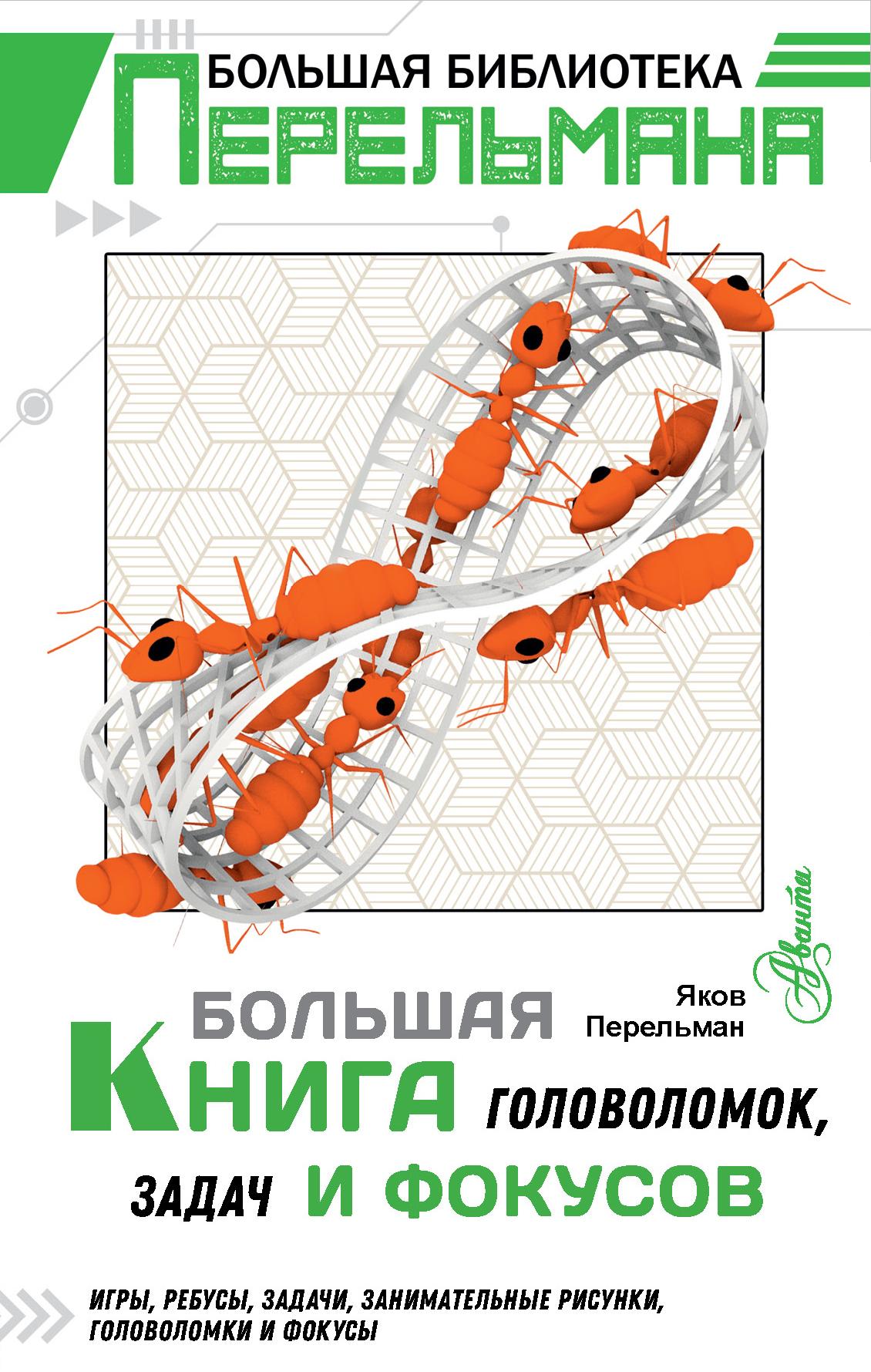 bolshaya kniga golovolomok zadach i fokusov