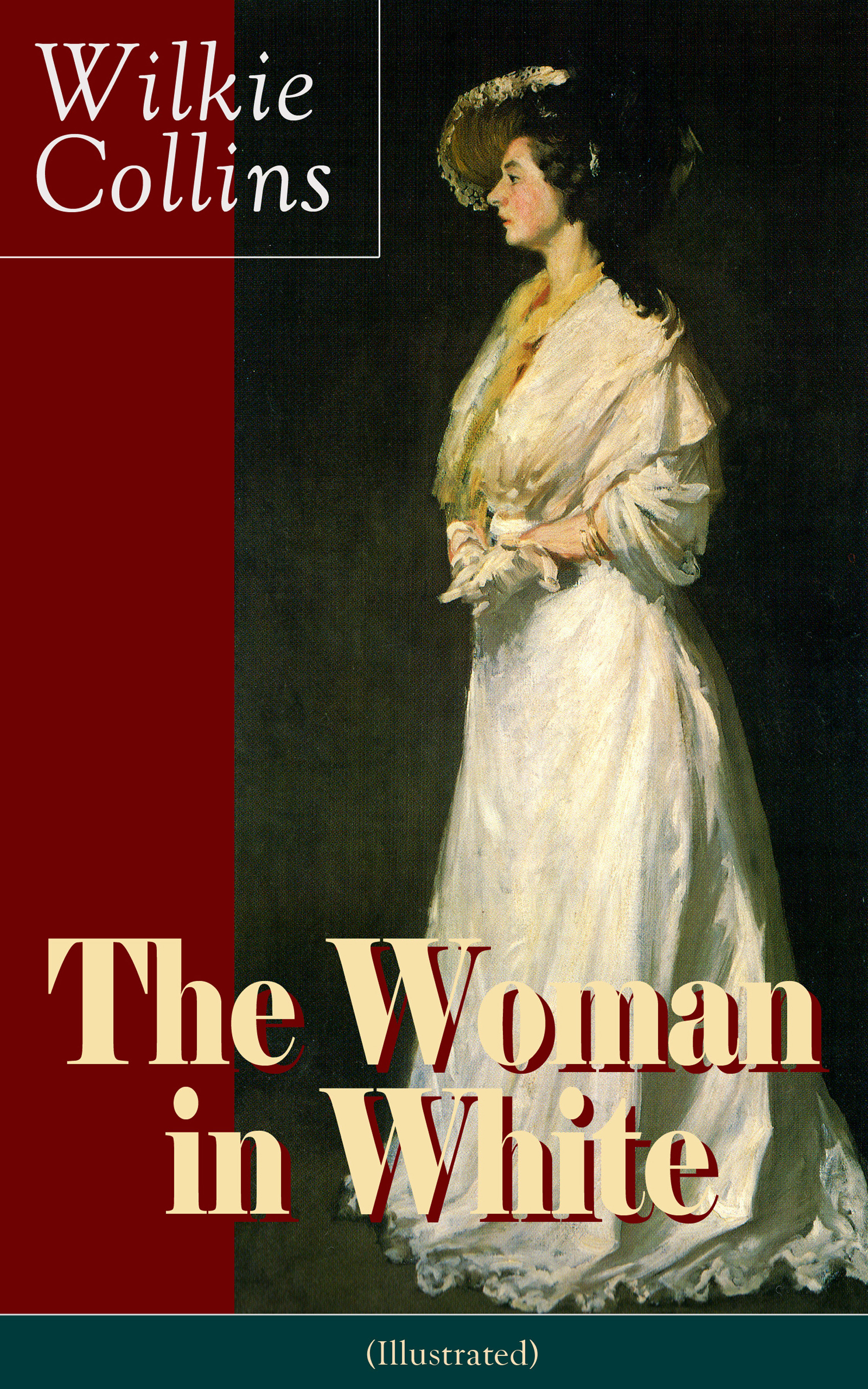 лучшая цена Wilkie Collins Collins The Woman in White (Illustrated): A Mystery Suspense Novel from the prolific English writer, best known for The Moonstone, No Name, Armadale, The Law and The Lady, The Dead Secret, Man and Wife, Poor Miss Finch and The Black Robe