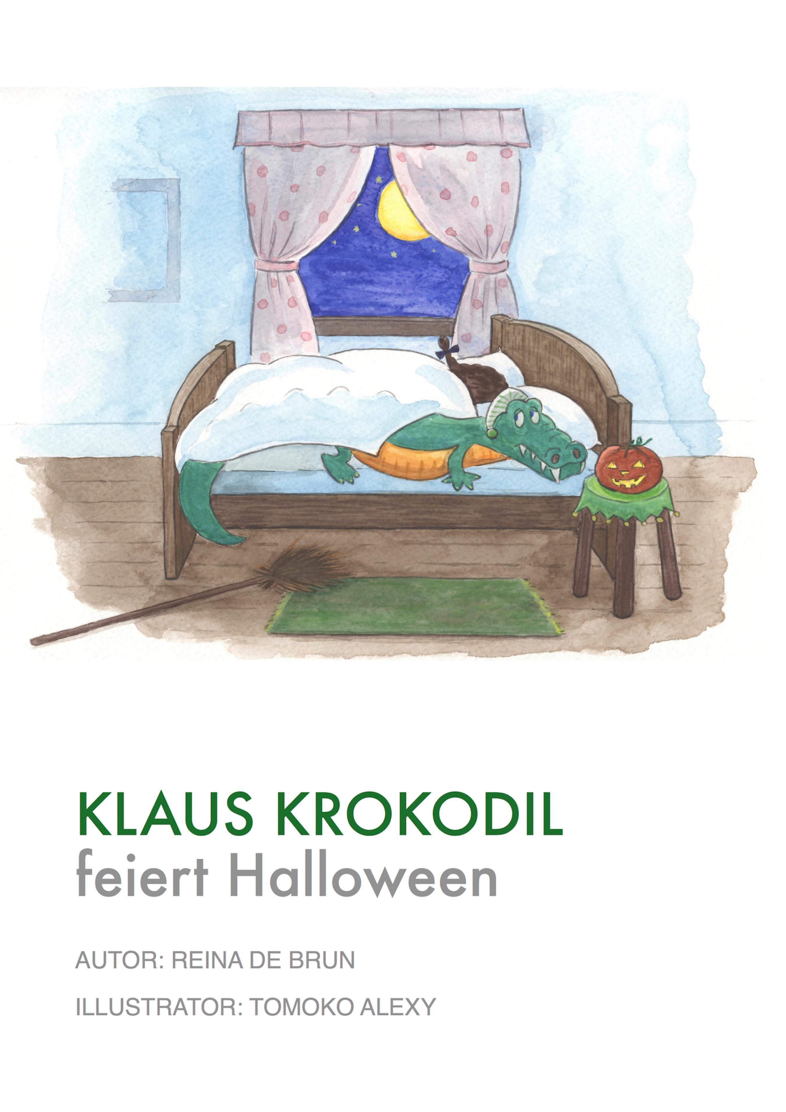 Reina de Brun Klaus Krokodil feiert Halloween klaus h carl portraits de vierges