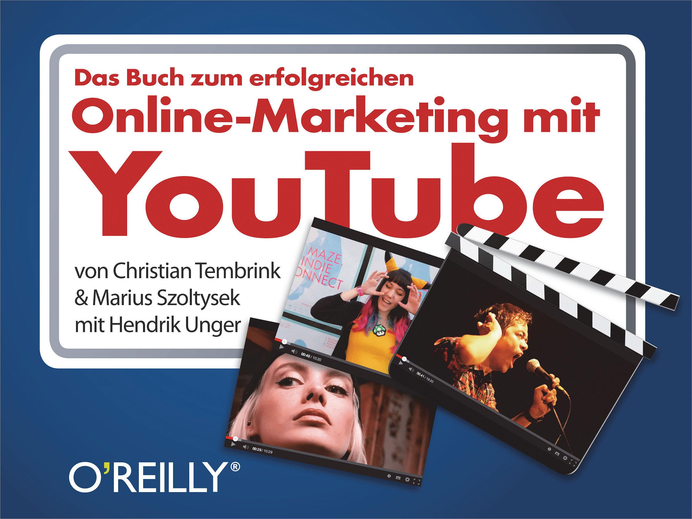 Christian Tembrink Das Buch zum erfolgreichen Online-Marketing mit YouTube holger jenes online kommunikation mit kunden