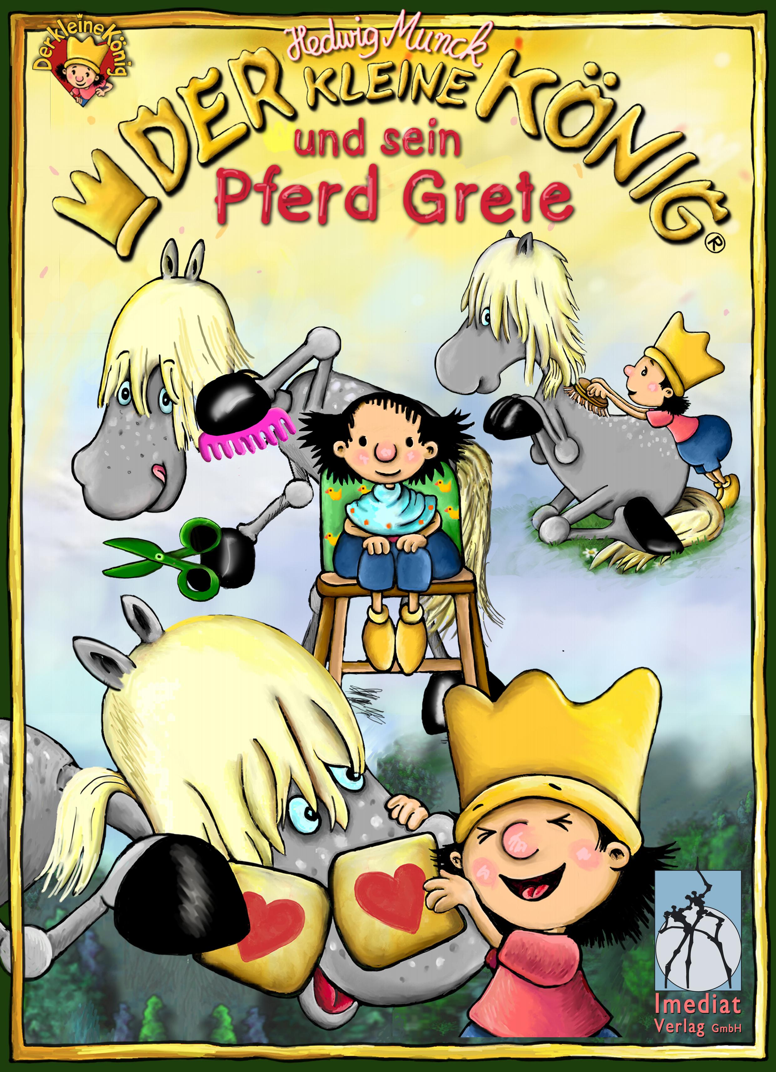 цена Hedwig Munck Der kleine König und sein Pferd Grete