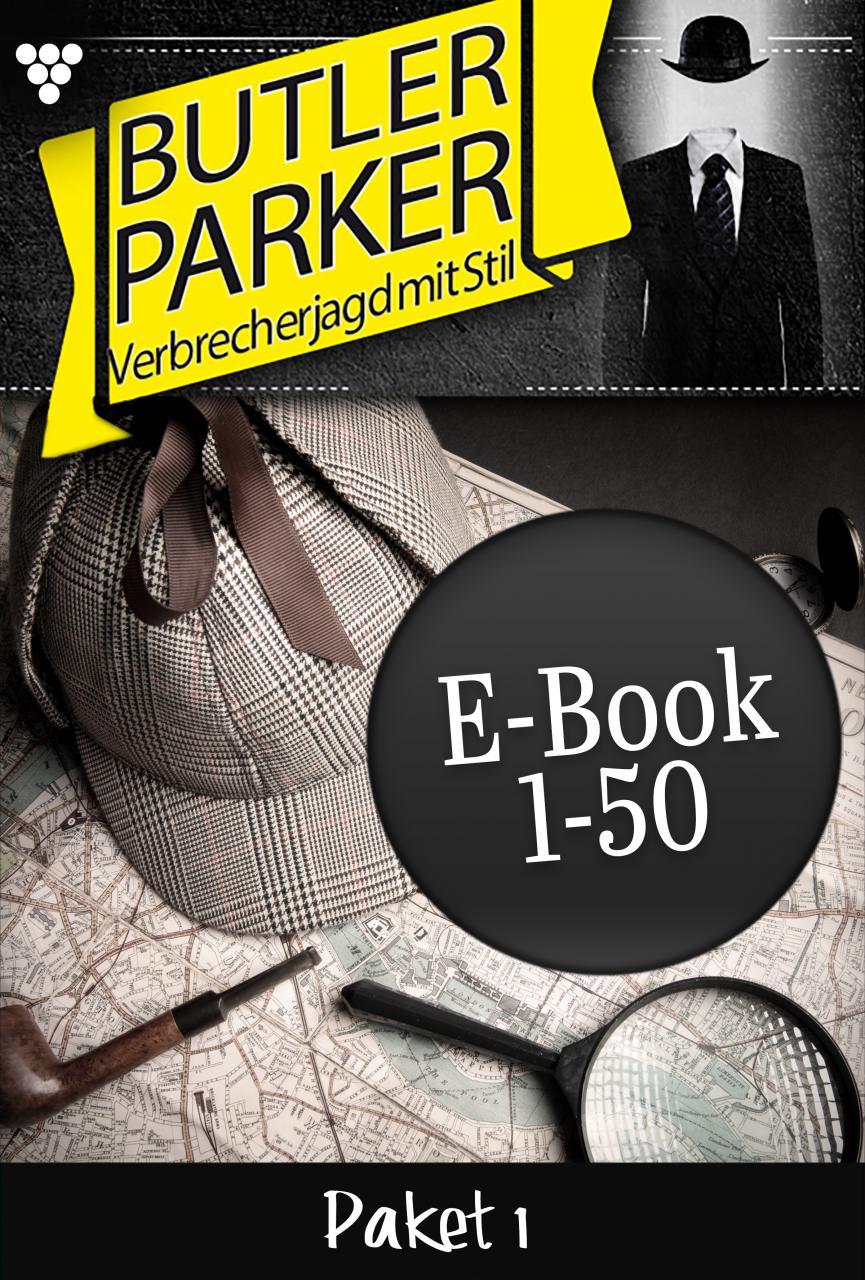 цена на Günter Dönges Butler Parker Paket 1 – Kriminalroman