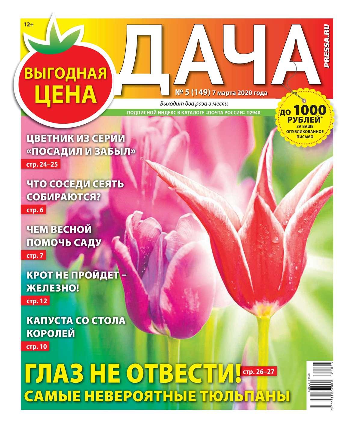Дача Pressa.ru 05-2020