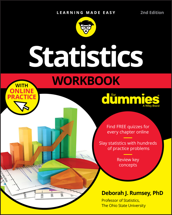 Фото - Deborah Rumsey J. Statistics Workbook For Dummies with Online Practice gre for dummies with online practice tests