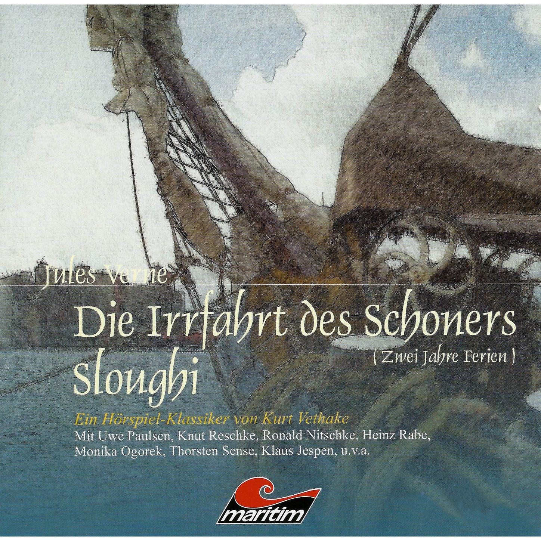 Jules Verne Jules Verne, Folge 6: Die Irrfahrt des Schoners Sloughi jules verne wilhelm storitz geheimnis
