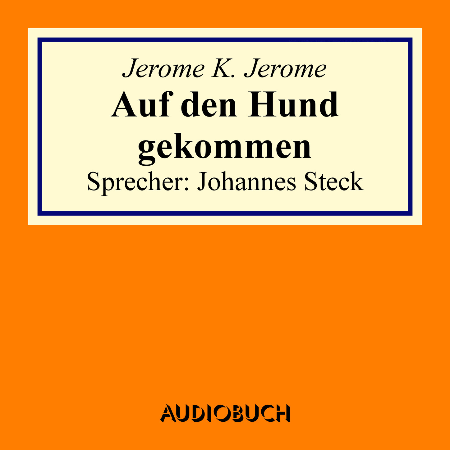 Jerome K. Jerome Auf den Hund gekommen jerome k jerome the second thoughts of an idle fellow