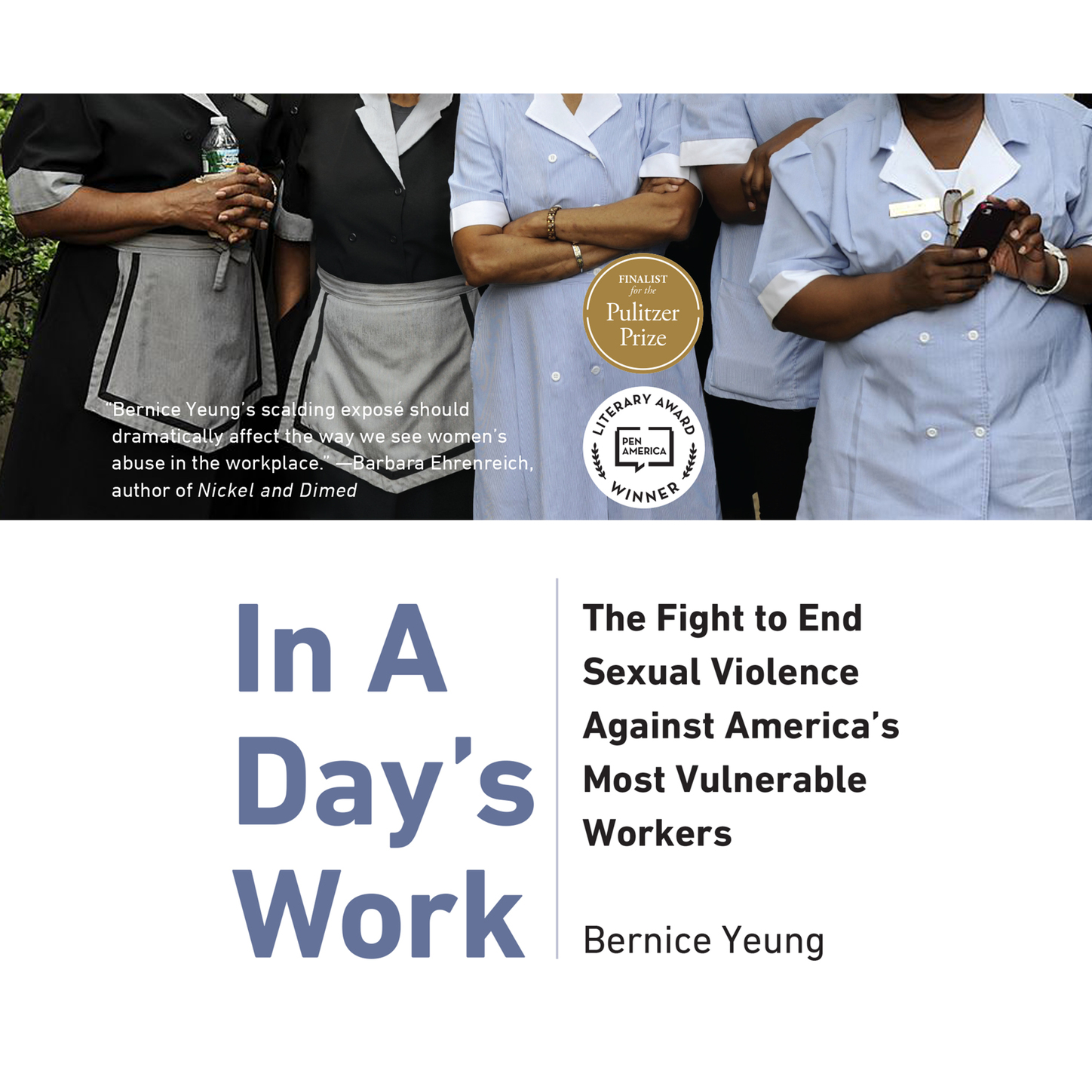 Bernice Yeung In A Day's Work - The Fight to End Sexual Violence Against America's Most Vulnerable Workers (Unabridged) цена 2017