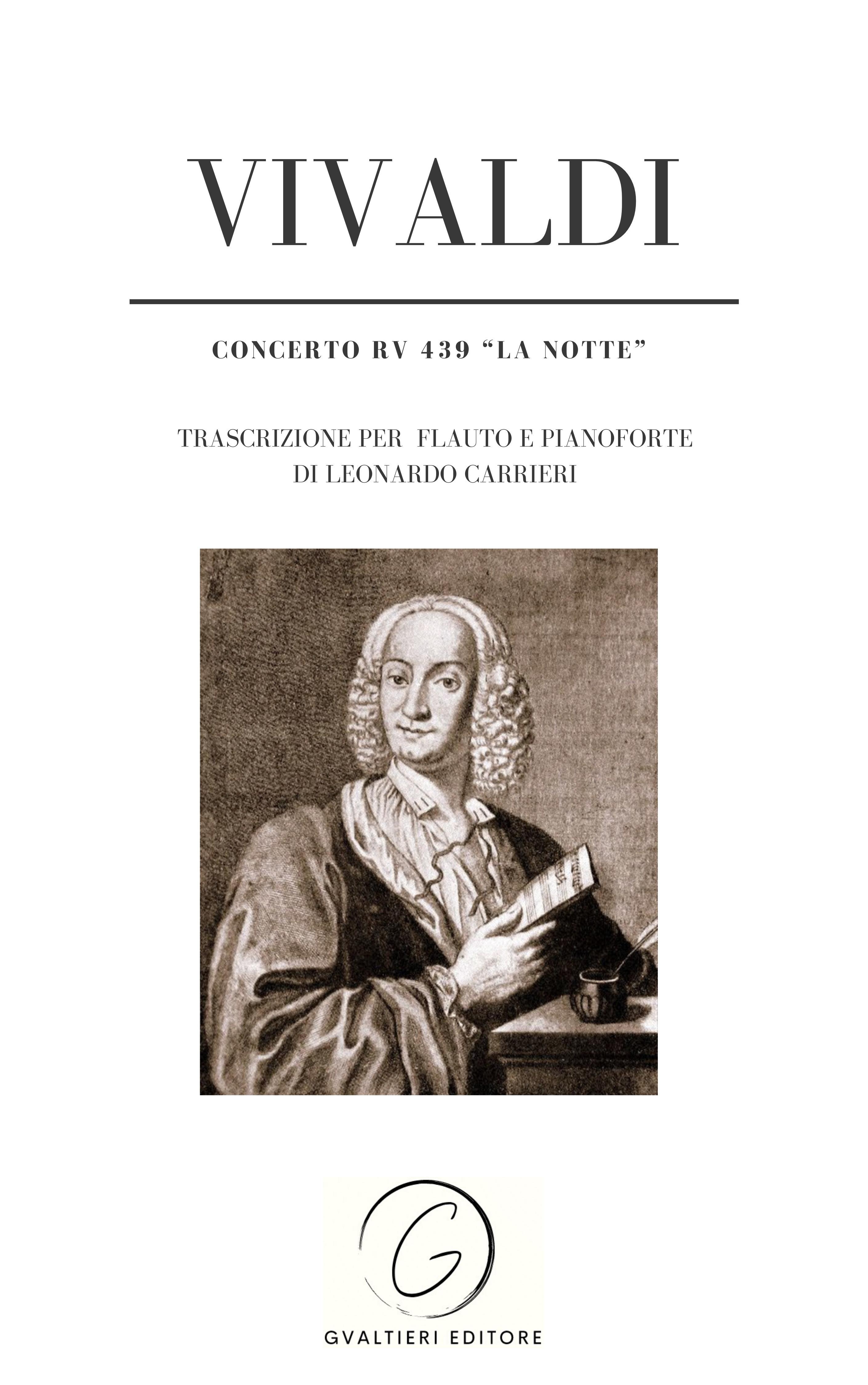 Antonio Vivaldi - Leonardo Carrieri Concerto RV 439 op. 10 n. 2 - La notte antonio simone sografi il trionfo di clelia nuovo dramma classic reprint