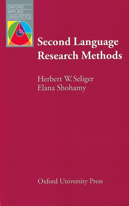Herbert W. Seliger Second Language Research Methods effect of sulphur and boron on physiological parameters of soybean