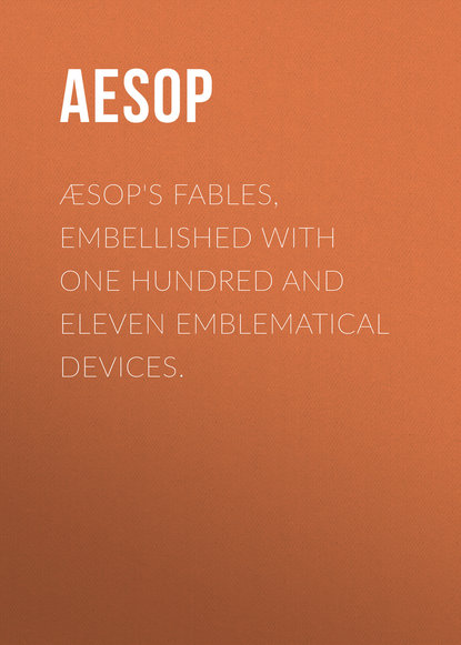 Фото - Aesop Æsop's Fables, Embellished with One Hundred and Eleven Emblematical Devices. beaded tassel embellished striped blouse