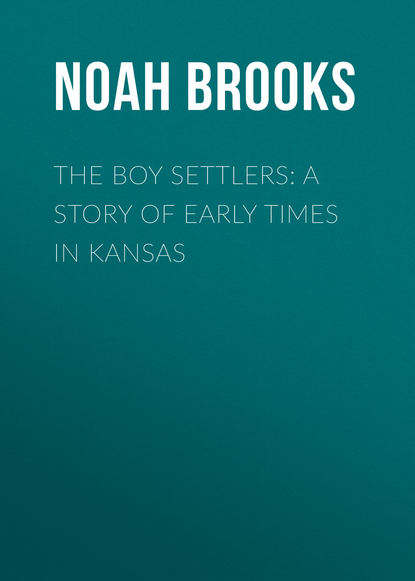 Noah Brooks The Boy Settlers: A Story of Early Times in Kansas new settlers new transnationals