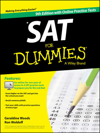 mark zegarelli sat math for dummies Geraldine Woods SAT For Dummies, with Online Practice