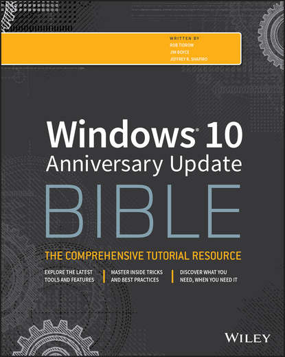 Rob Tidrow Windows 10 Anniversary Update Bible ken trivette bible windows