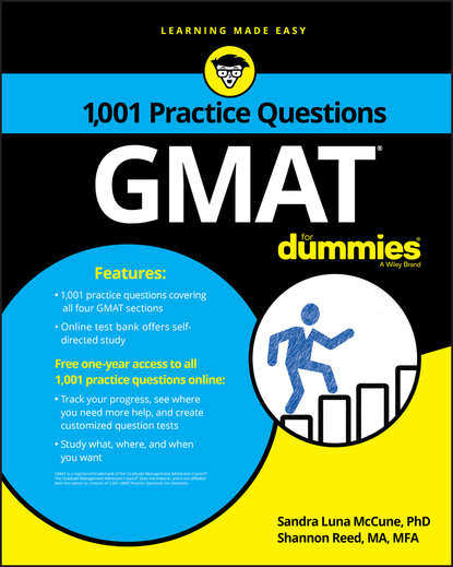 Shannon Reed 1,001 GMAT Practice Questions For Dummies murray shukyn ged mathematical reasoning test for dummies