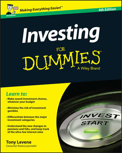 Фото - Tony Levene Investing for Dummies - UK kevin grogan the only guide you ll ever need for the right financial plan managing your wealth risk and investments