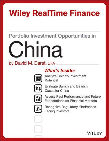 David M. Darst Portfolio Investment Opportunities in China david m darst portfolio investment opportunities in india