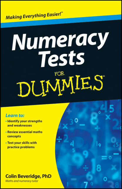 Фото - Colin Beveridge Numeracy Tests For Dummies mikhail s nikulin nonparametric tests for censored data