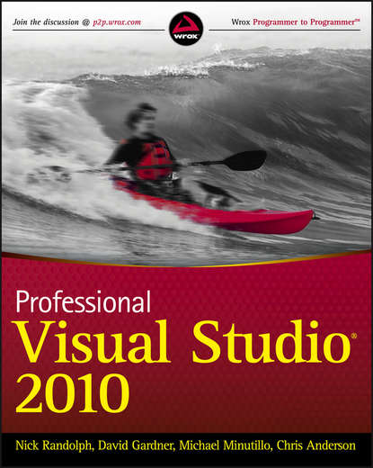 Фото - Nick Randolph Professional Visual Studio 2010 bruce johnson professional visual studio 2015