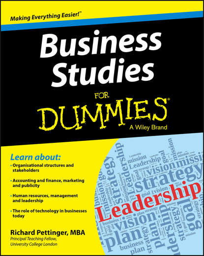 Richard Pettinger Business Studies For Dummies studies in business cycle theory paper