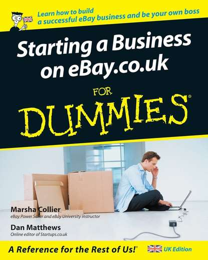 Marsha Collier Starting a Business on eBay.co.uk For Dummies eric tyson starting a business all in one for dummies