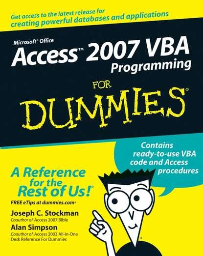 alan simpson access 2007 vba programming for dummies Alan Simpson Access 2007 VBA Programming For Dummies