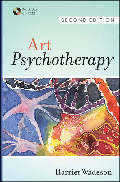 Harriet Wadeson Art Psychotherapy calming art therapy doodle and colour your stress away