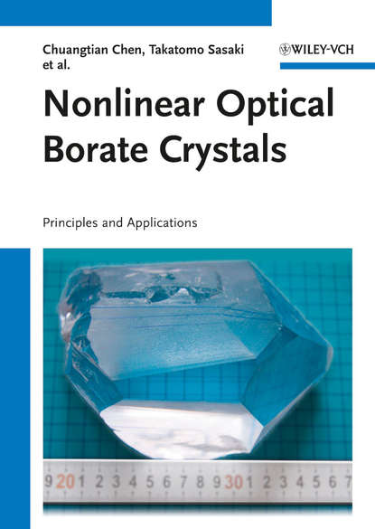 Chuangtian Chen Nonlinear Optical Borate Crystals. Principals and Applications certain characterizations of tungsten ditelluride single crystals