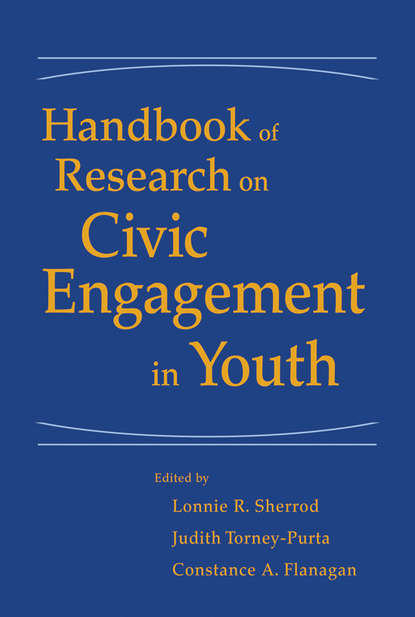 Judith Torney-Purta Handbook of Research on Civic Engagement in Youth teaching civic engagement