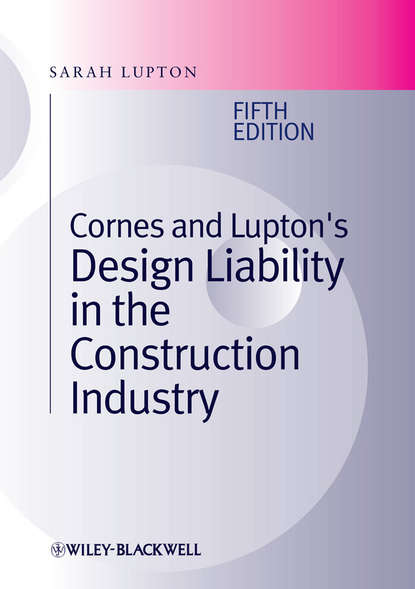 Sarah Lupton Cornes and Lupton's Design Liability in the Construction Industry chen ling design and construction of coordination polymers