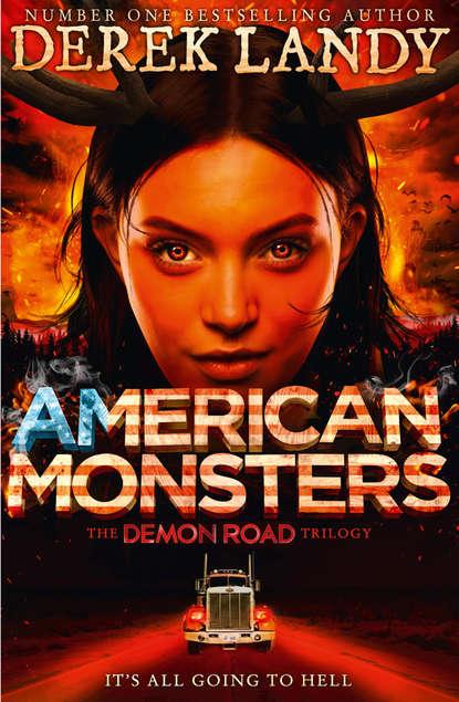 Derek Landy American Monsters derek landy skulduggery pleasant