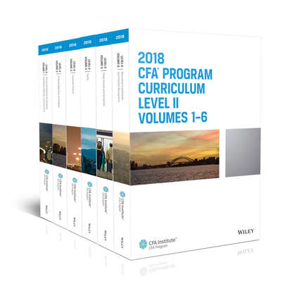 Фото - CFA Institute CFA Program Curriculum 2018 Level II level on