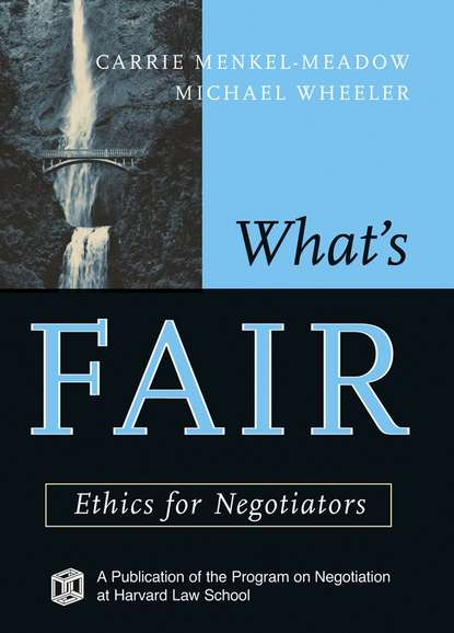 Michael Wheeler What's Fair michael wheeler quantum negotiation