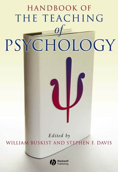 William Buskist Handbook of the Teaching of Psychology william wotherspoon ireland the blot upon the brain studies in history and psychology