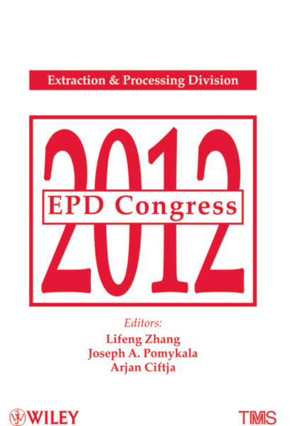 Lifeng Zhang EPD Congress 2012 недорого