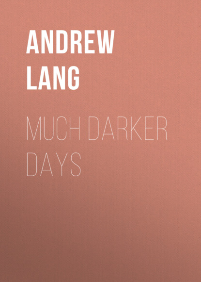 Andrew Lang Much Darker Days бэрри вордсвут darker desires classical music inspired by romance passion and literature 2 cd