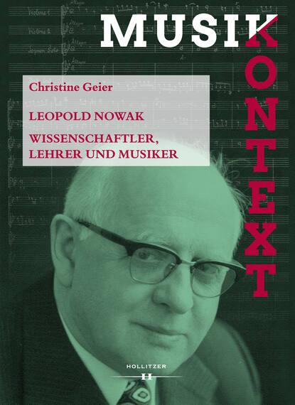 Christine Geier Leopold Nowak piotr nowak hodowanie troglodytów