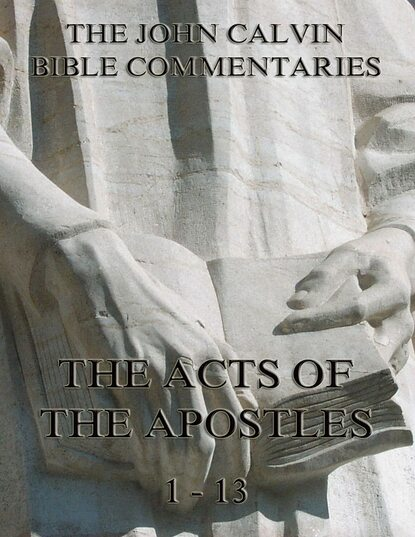 Фото - John Calvin John Calvin's Commentaries On The Acts Vol. 1 john calvin john calvin s commentaries on the harmony of the law vol 2