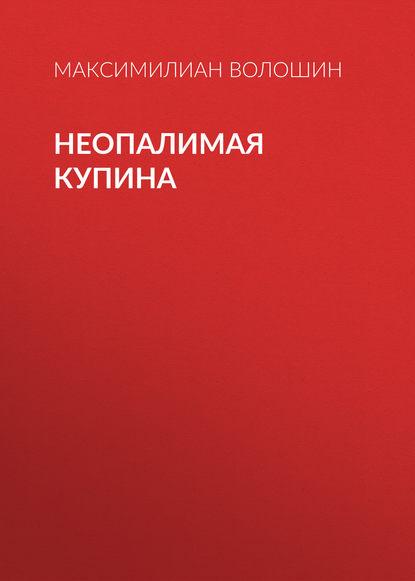 Максимилиан Волошин Неопалимая купина максимилиан волошин демоны разрушения и закона