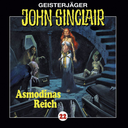 Jason Dark John Sinclair, Folge 22: Asmodinas Reich (2/2) jason dark john sinclair folge 22 asmodinas reich 2 2