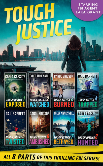 Carla Cassidy Tough Justice Series Box Set: Parts 1-8