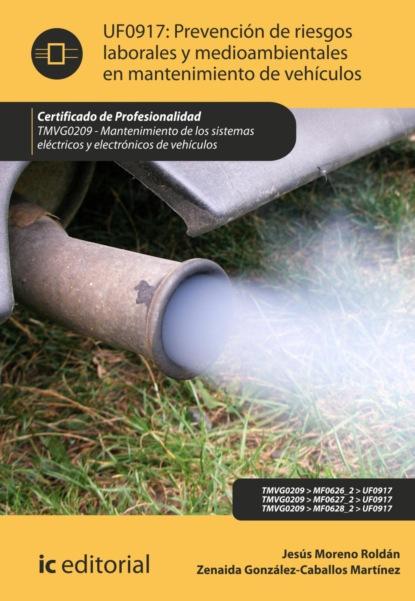 Jesús Moreno Roldán Prevención de riesgos laborales y medioambientales en mantenimiento de vehículos. TMVG0209 antonio josé díaz román mantenimiento seguridad y tratamiento de los residuos en la impresión digital argi0209