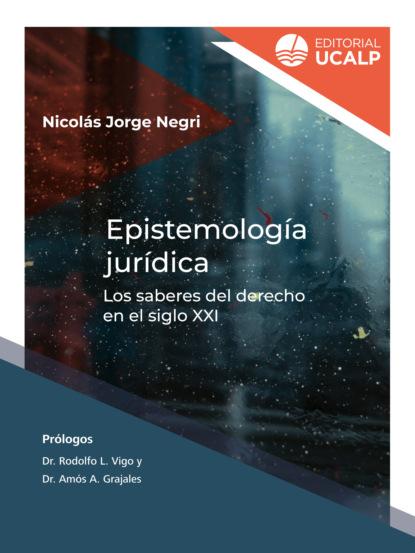 Фото - Nicolás Jorge Negri Epistemología jurídica varios autores lecciones de derecho penal parte general